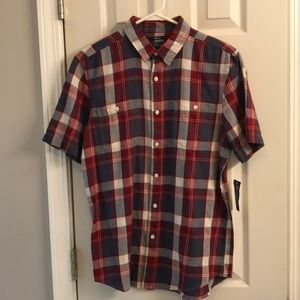 Men's S American Rag plaid button up. NWT
